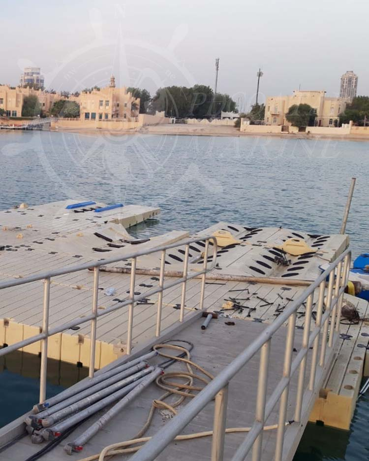 Private Client J. Al Jaber – Underwater Cleaning & Maintenance