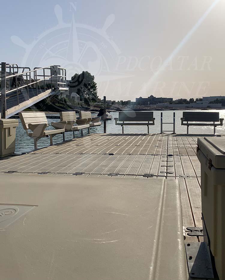 Private Client J. Al Jaber – Floating Dock