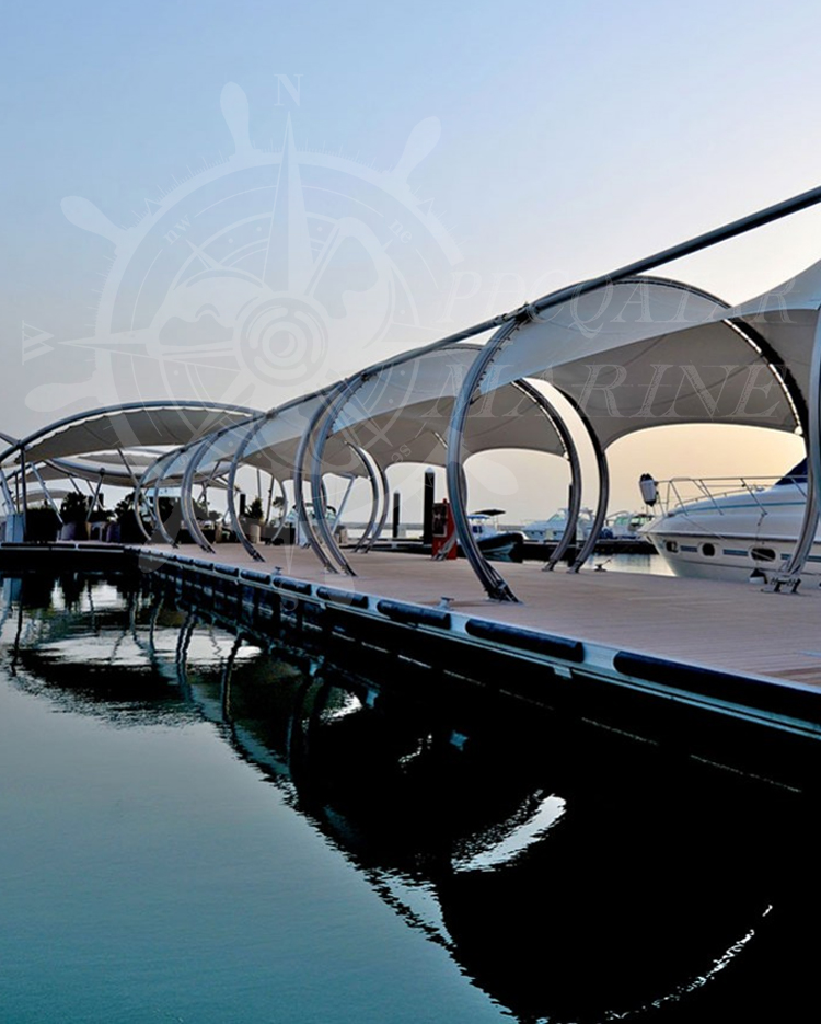 Lusail Mourjan Marina Re-Anchor