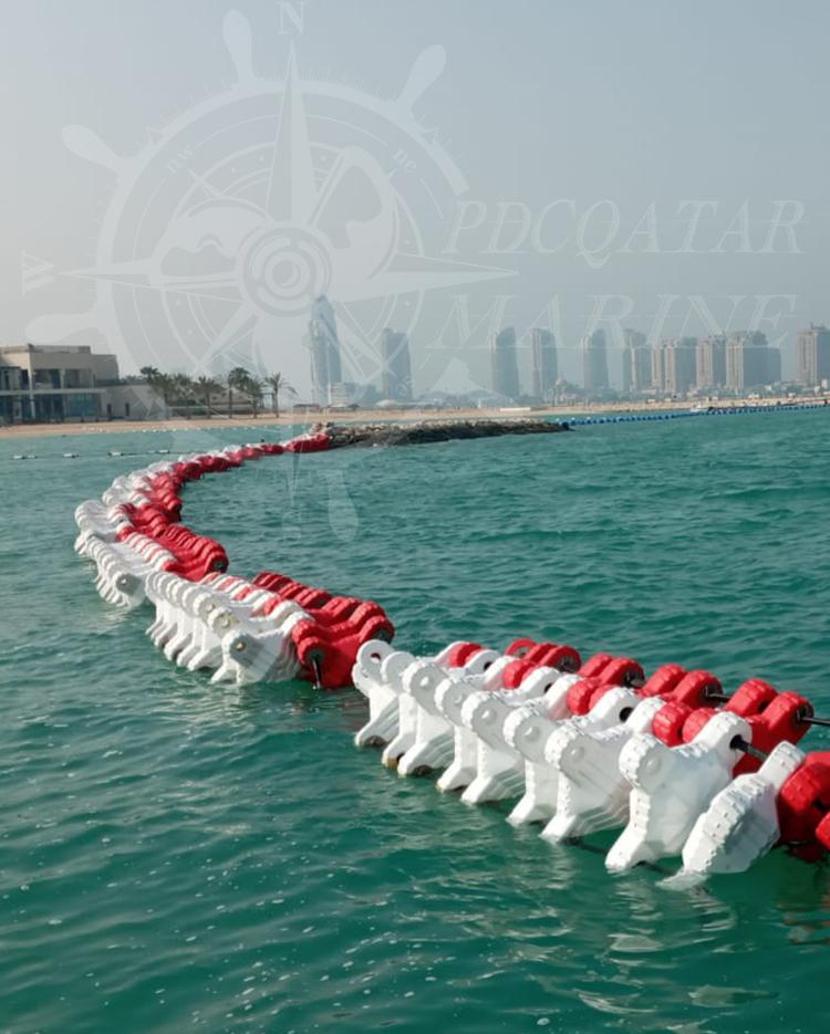 Private Client – Sh. M. F AlThani – Sea Barrier WaveBreaker