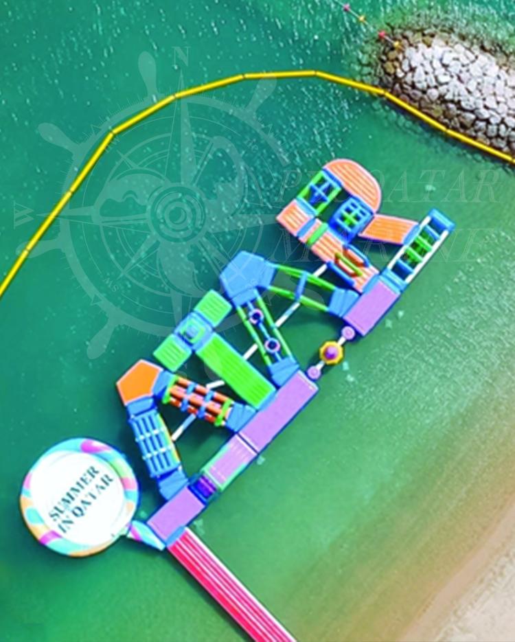 Marsa Malaz Kempinski – Qatar Floating Water Park
