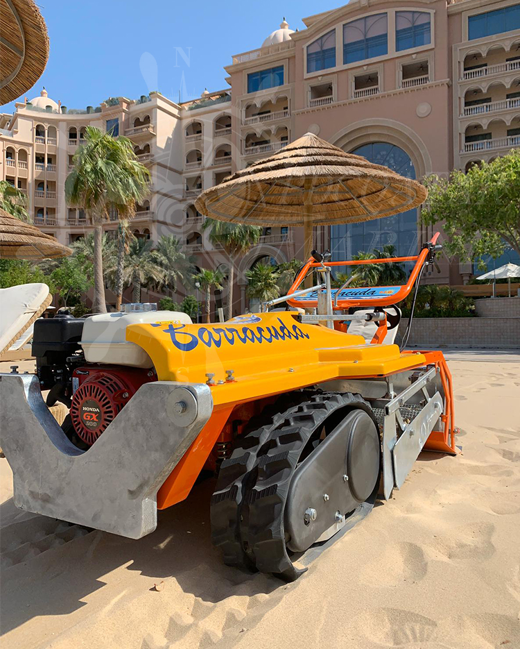 Marsa Malaz Kempinski – Sand Cleaning Machine