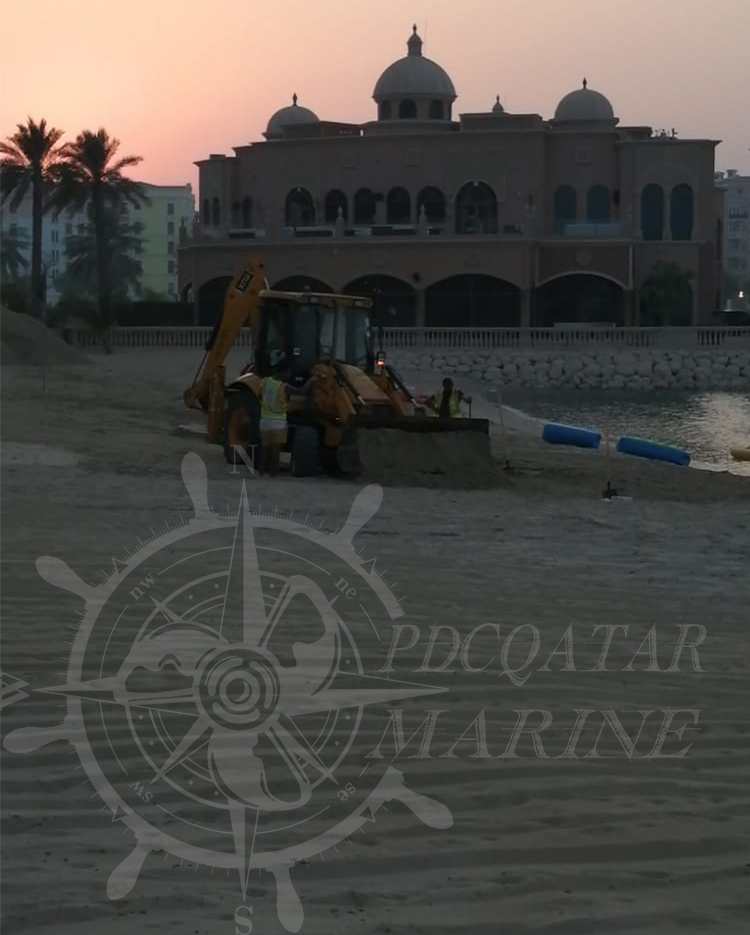 Marsa Malaz Kempinski – Sand Filling & Reprofiling